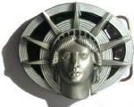 Statue of Liberty Belt Buckle + display stand. Code RA7